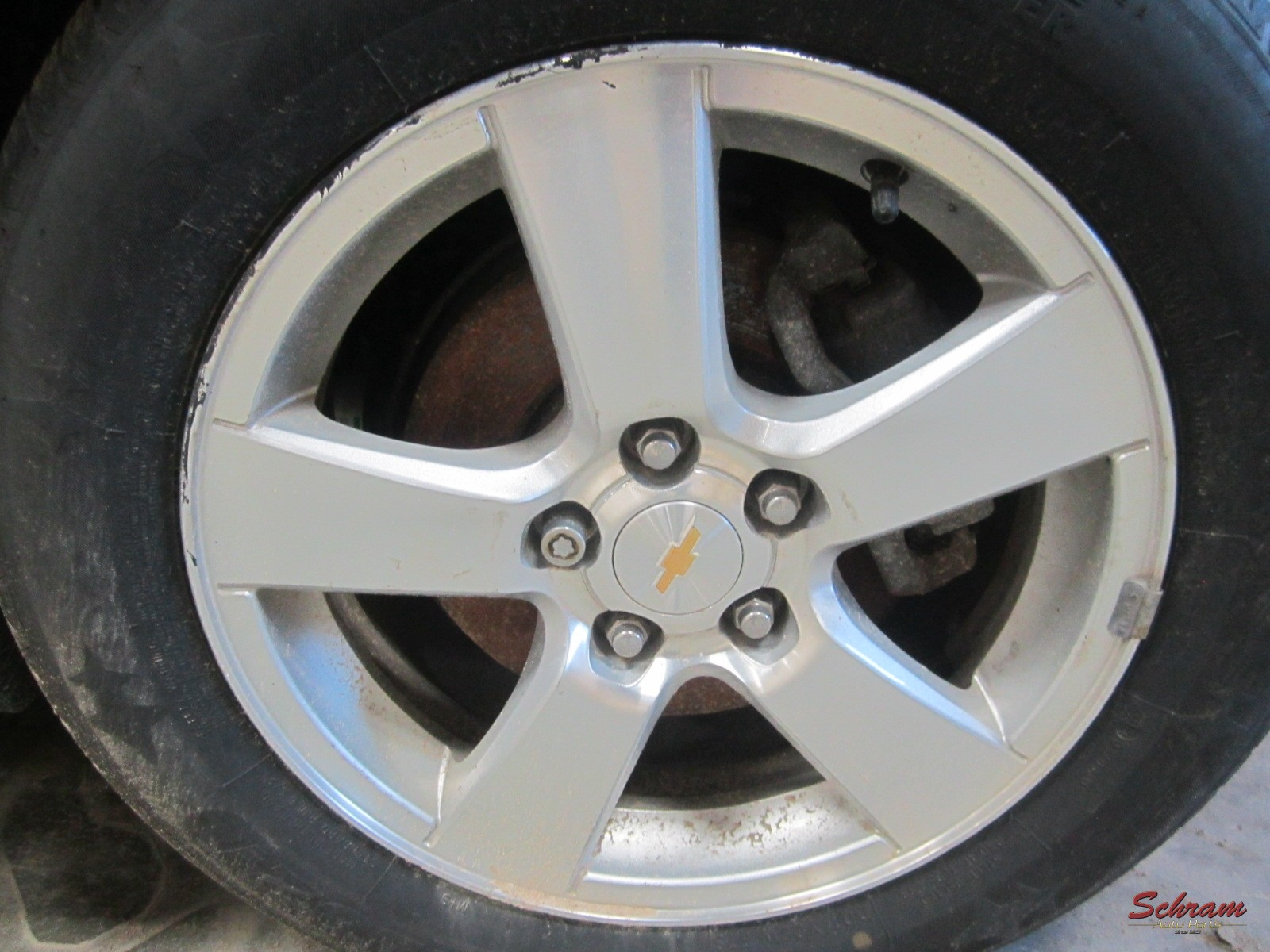 2014 CRUZE Wheel (5 single spoke, opt WR6)